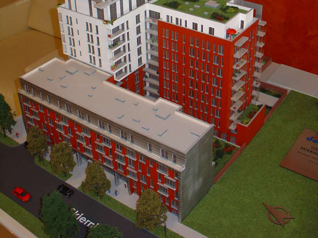 Makieta - Apartamentowiec Skierniewicka City, widok 14