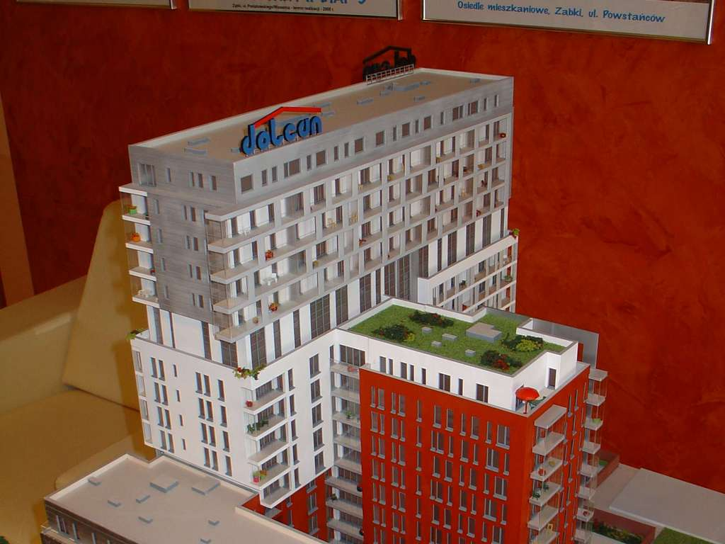 Makieta - Apartamentowiec Skierniewicka City, widok 15