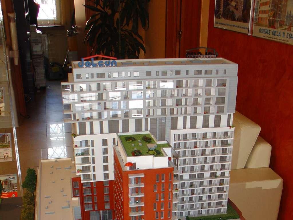 Makieta - Apartamentowiec Skierniewicka City, widok 16