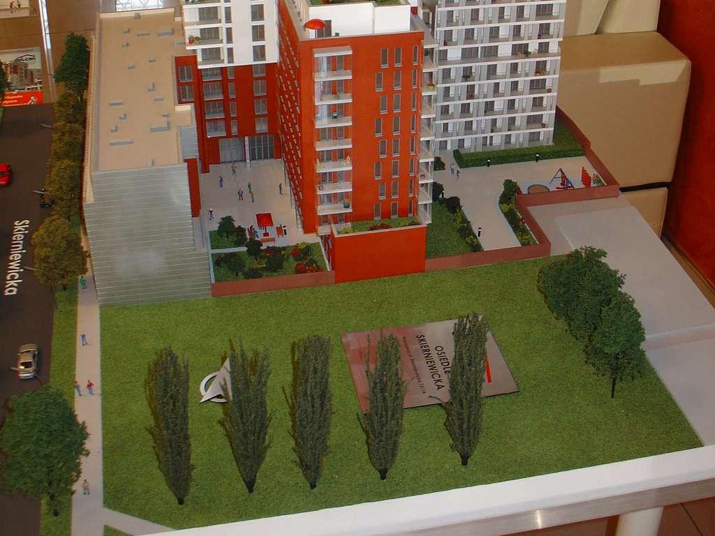 Makieta - Apartamentowiec Skierniewicka City, widok 17