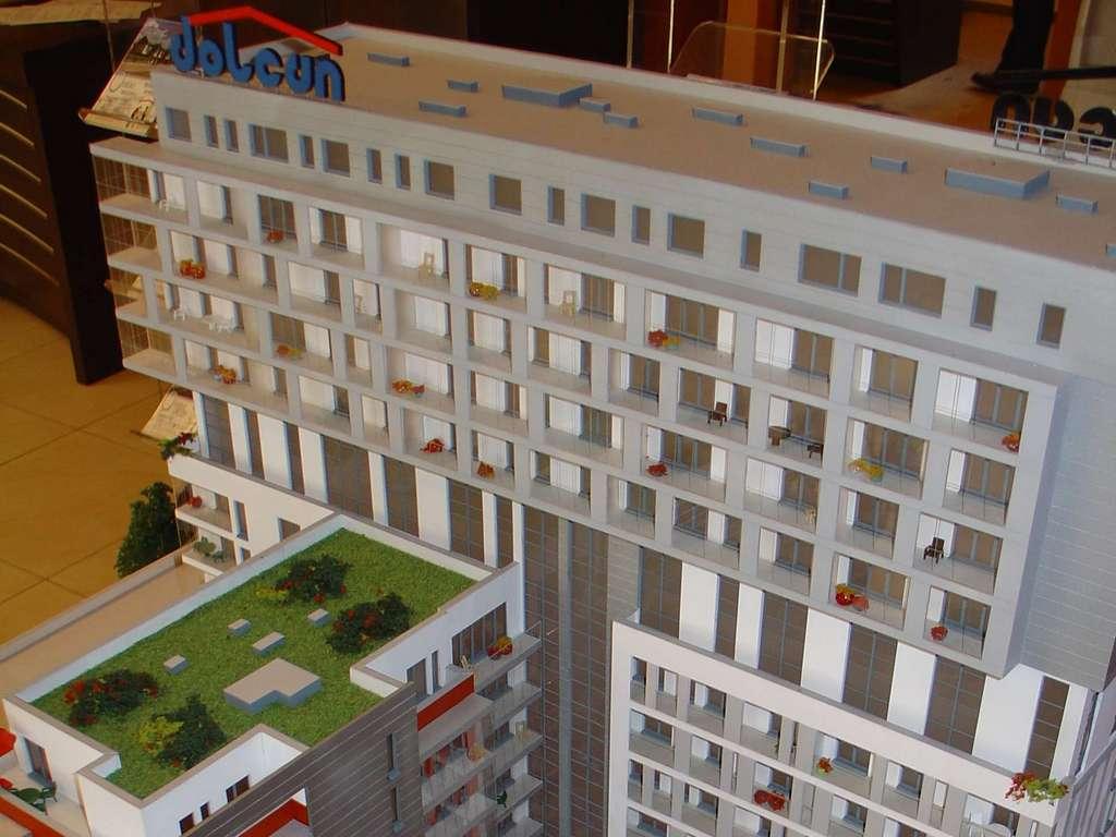 Makieta - Apartamentowiec Skierniewicka City, widok 19