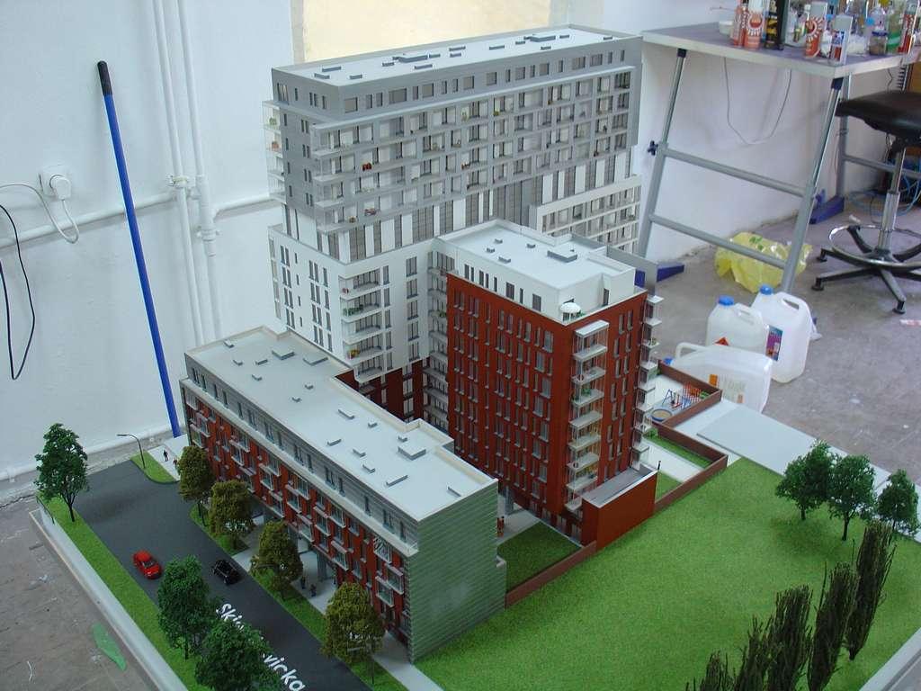 Makieta - Apartamentowiec Skierniewicka City, widok 5