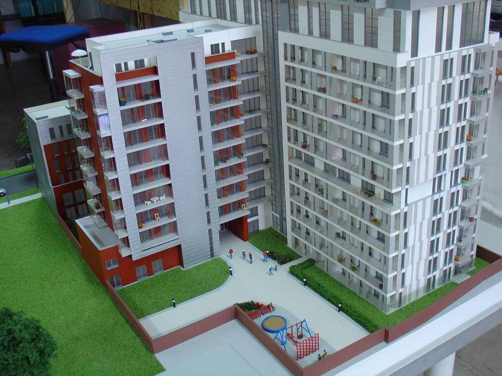 Makieta - Apartamentowiec Skierniewicka City, widok 8