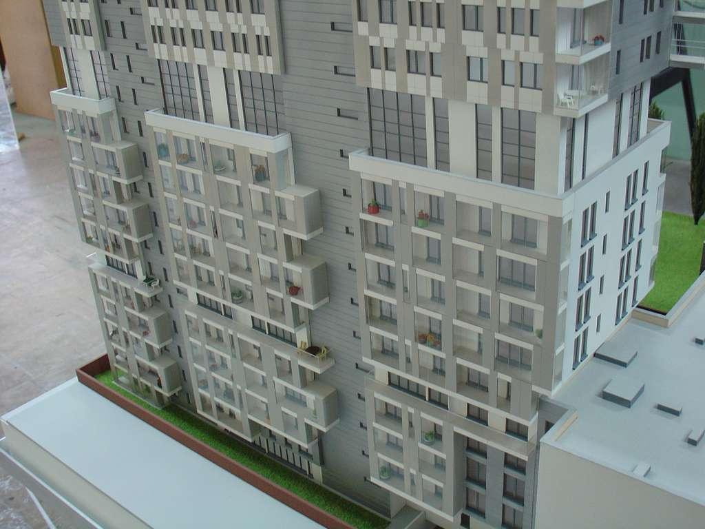 Makieta - Apartamentowiec Skierniewicka City, widok 9