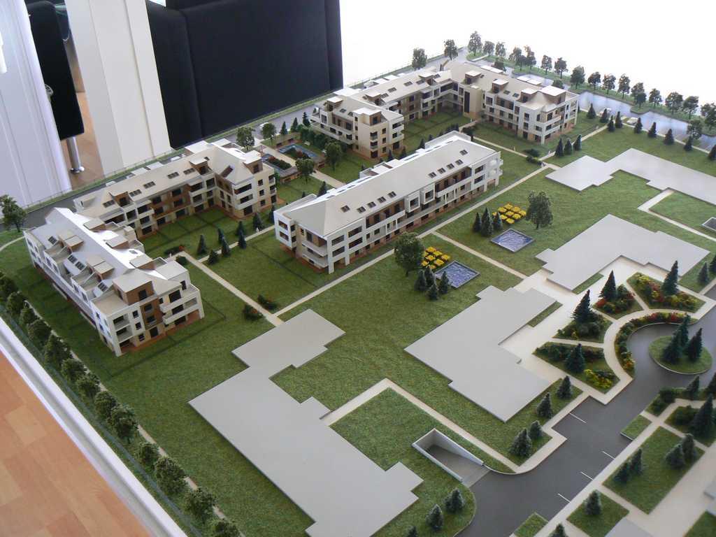 Makieta - Osiedle mieszkaniowe Walencja w Ożarowie, widok 3