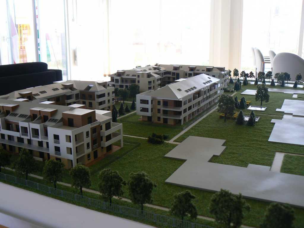 Makieta - Osiedle mieszkaniowe Walencja w Ożarowie, widok 8