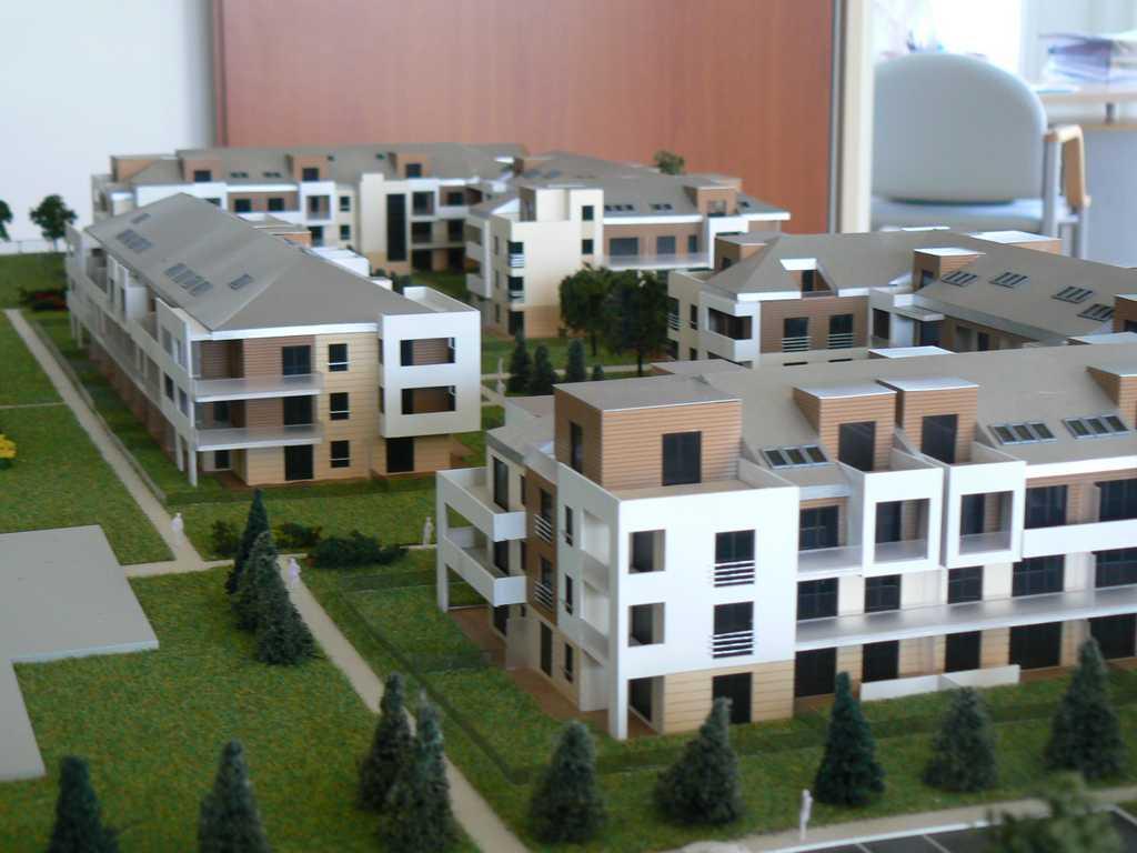 Makieta - Osiedle mieszkaniowe Walencja w Ożarowie, widok 9